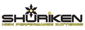 Shuriken High Performance Batteries Logo